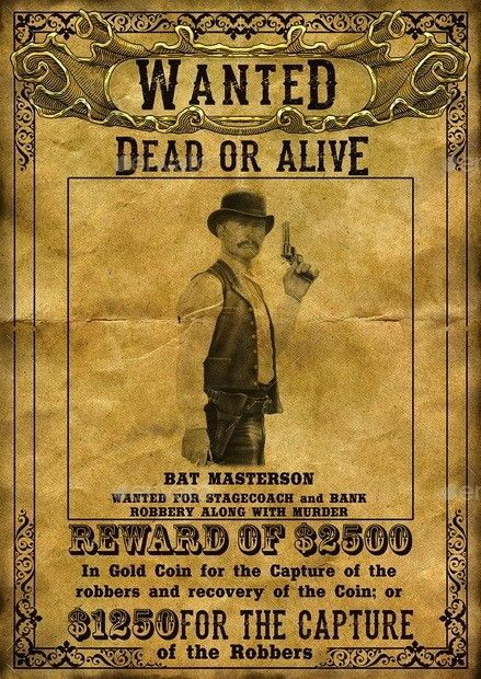 Wanted Poster Template Powerpoint   The Letter Sample