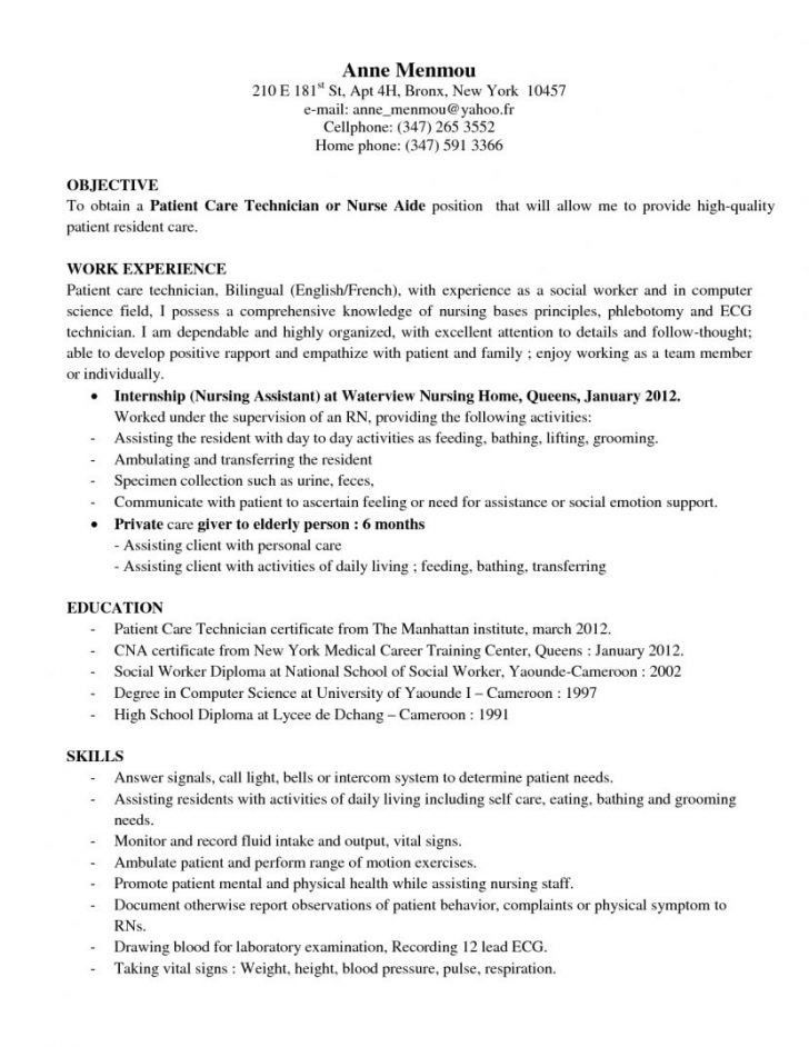 Pct Resume Templates. beautiful licensed psychiatric technician ...