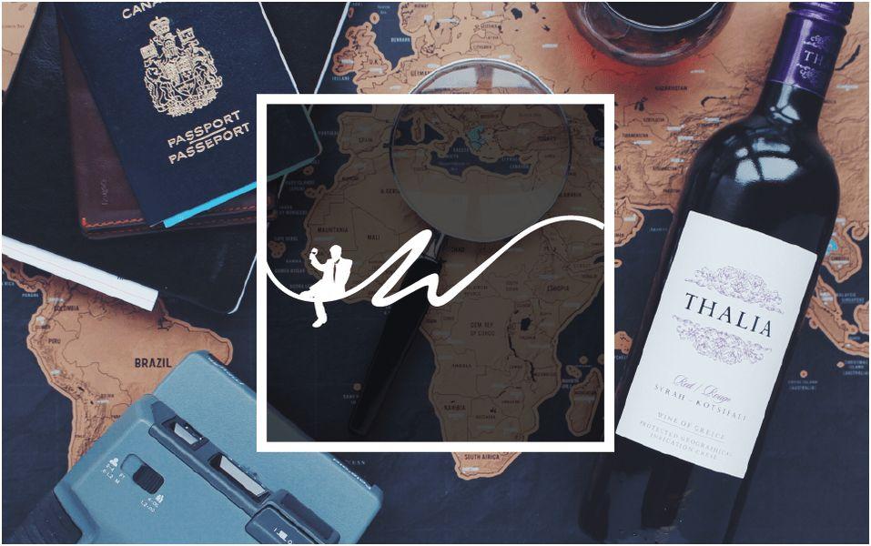 Wine Club Logo & Business Card Design | shira ink.