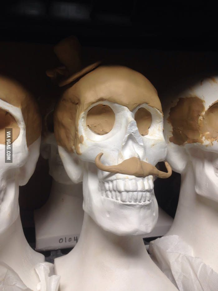 I'm going to school to become a mortician. This is someone's ...