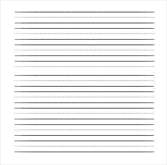 Notebook Paper Template For Word, minimalist resume template clean ...
