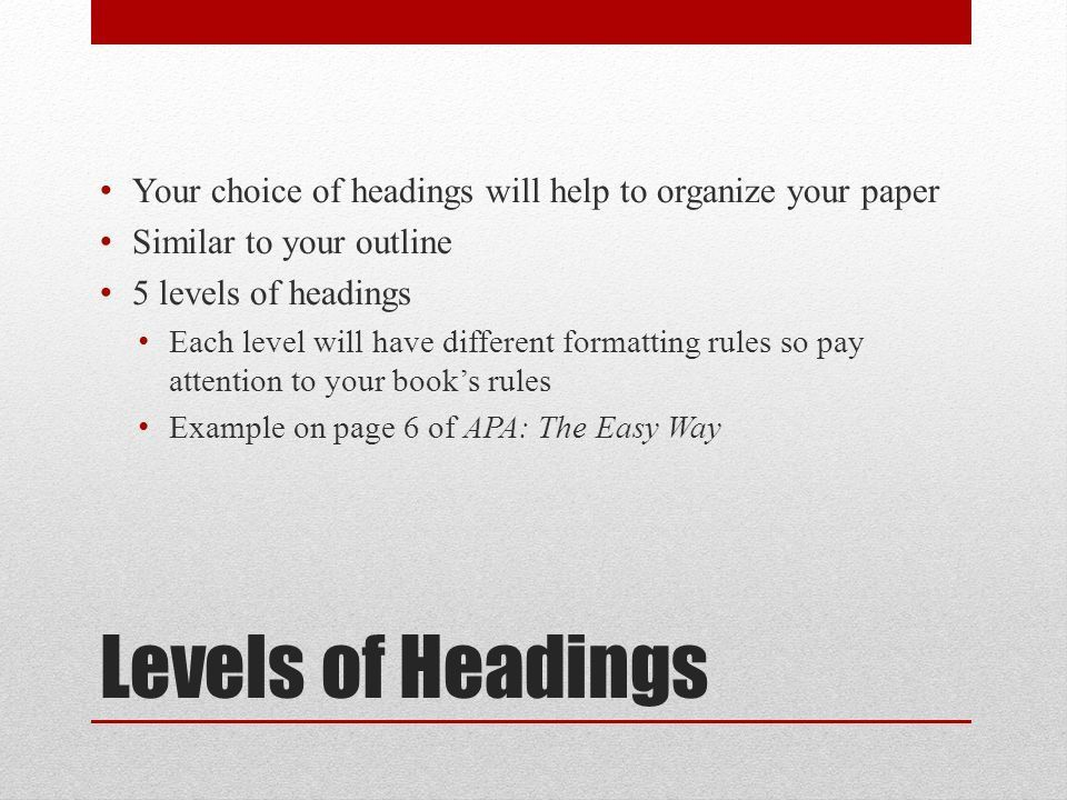 APA Formatting & Citations. APA Format Your paper should have: 12 ...