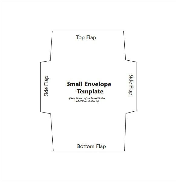 Sample Small Envelope - 8+ Example, Format