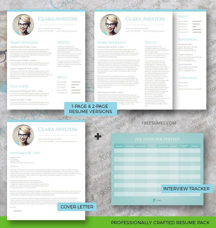 Simple Snapshot Complete Resume Pack