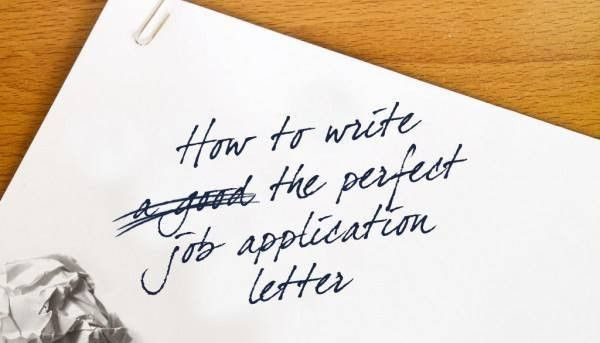 How To Write An Application Letter - Simple rules that will get ...
