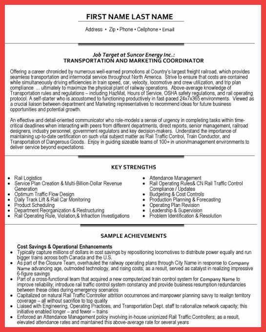 coordinator resume examples | memo example