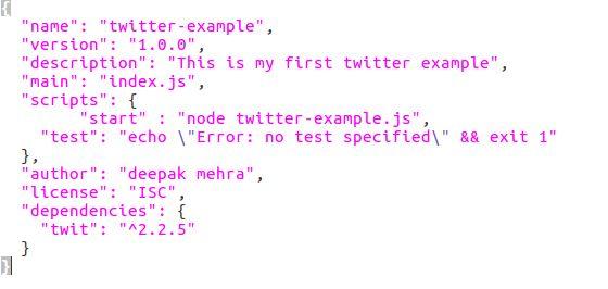 How to use Twitter API using Node.js   Knoldus