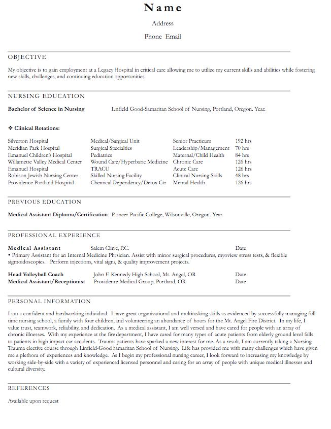 volleyball coach resume sample - http://exampleresumecv.org ...