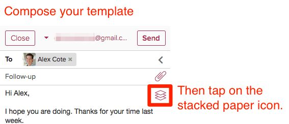 How do I create a new email template? | Cloze, Inc.