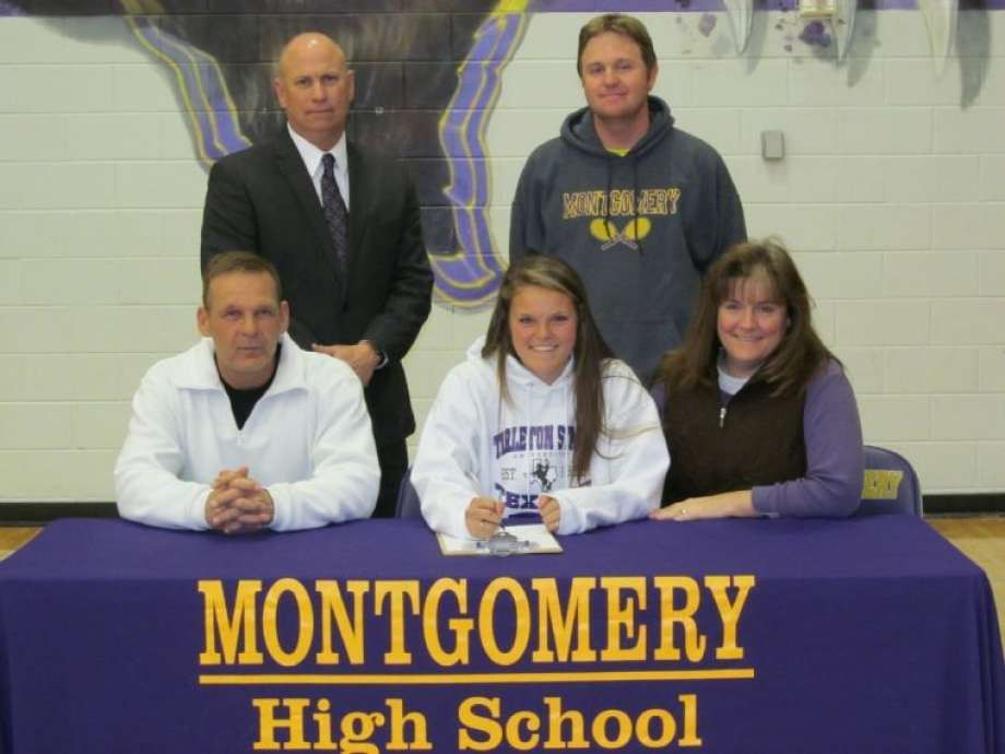 Montgomery athletes ink national letters of intent - The Courier
