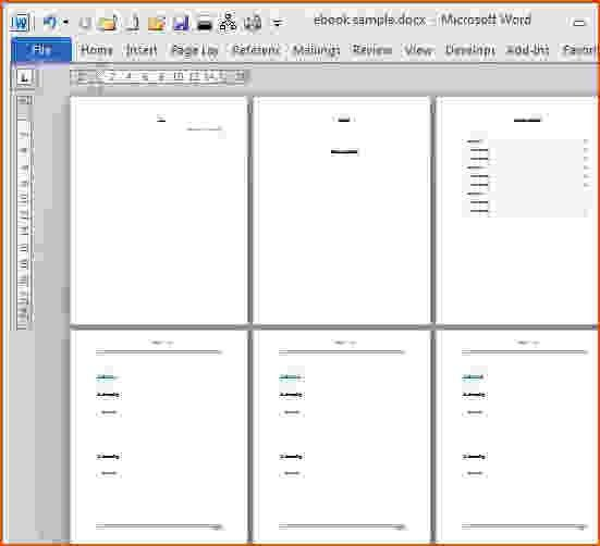 8+ microsoft word booklet template - bookletemplate.org