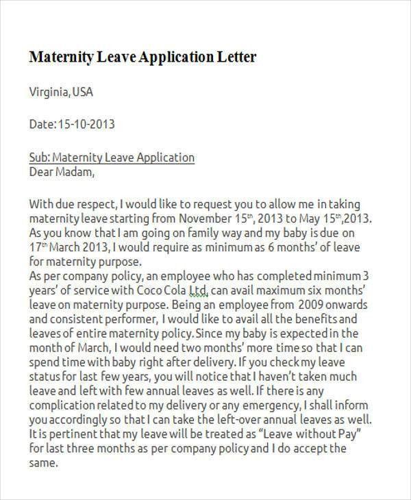 38+ Leave Letter Samples