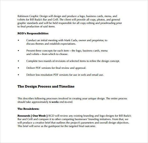 Informal Proposal [Template.billybullock.us ]
