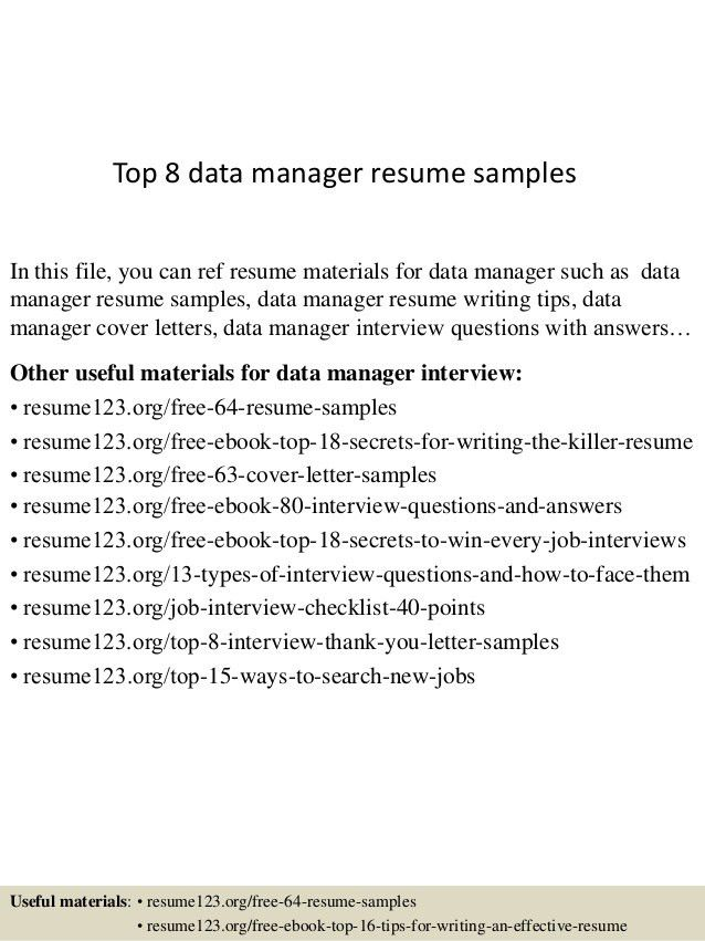 Material master data management resume