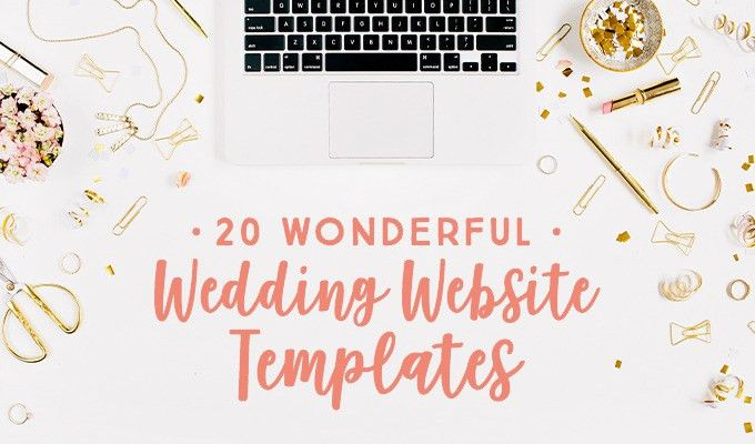 20 Wedding Website Templates That Are Ready for The Big Day ...