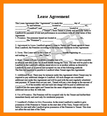 9+ lease document free | produce-clerk