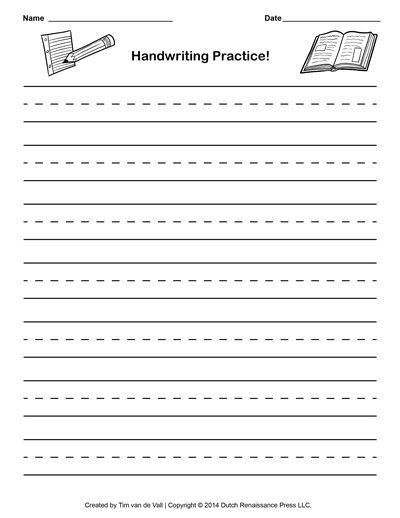 64 best Printable Writing Paper images on Pinterest | Writing ...