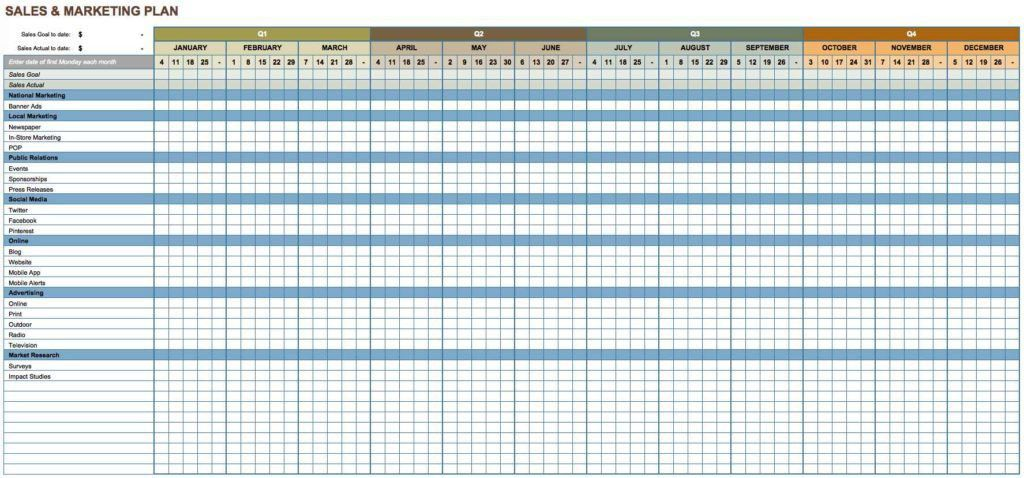 Goal Tracking Template. Customer Sales Tracking Template In Excel ...