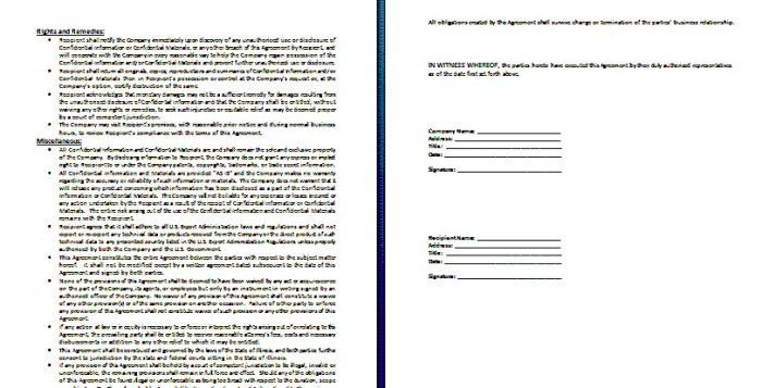 Doc.#460595: Sponsor Agreement – Sponsorship Agreement Template ...