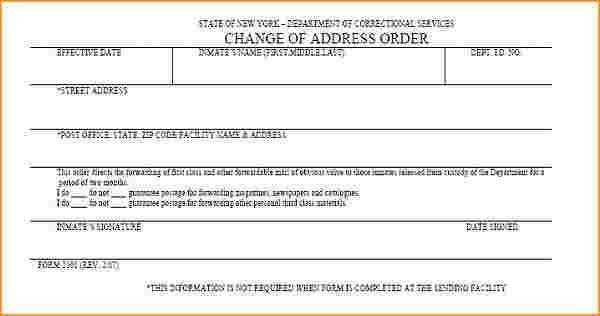 Usps Change Of Address Form.sample Usps Address Change Form L1.png ...