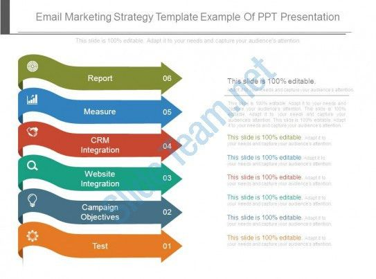 Email Marketing Strategy Template Example Of Ppt Presentation ...