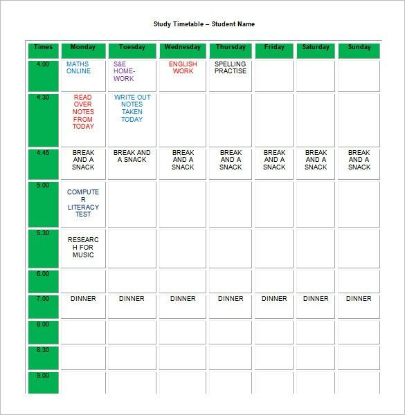Time Study Template. Study Template | Tumblr Volunteer Timesheet ...