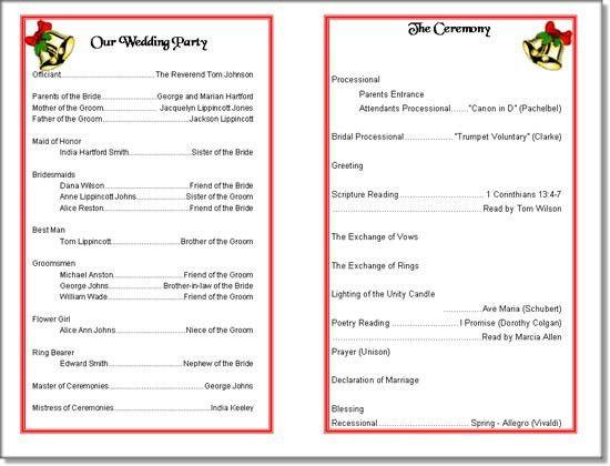 Concert Program Templates. program template 5. editable music ...