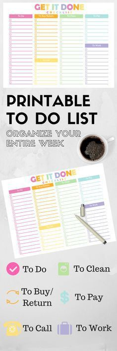 Printable meeting note pages to keep you organized at work ...