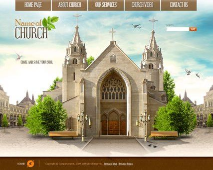 Church Video Gallery Template | Best Website Templates