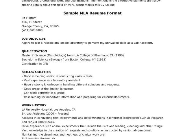 sample essay mla format mla essay layout resume formt cover letter ...