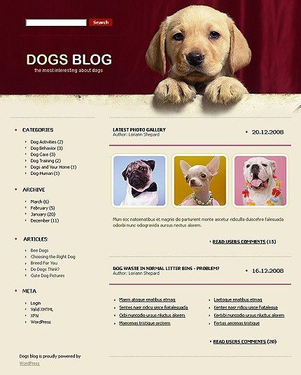 6 Attractive WordPress Themes for Animal Sites - WP Solver