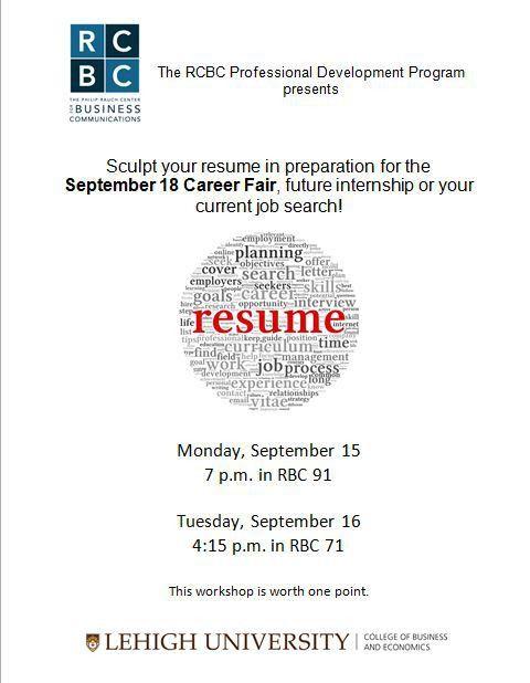 "September 14 ""Week at a Glance"" | CBE Undergraduate Center"