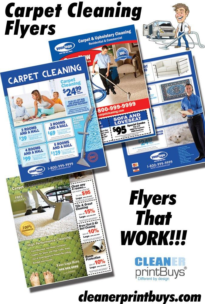 Beautiful Carpet Cleaning Flyers With Design Inspiration