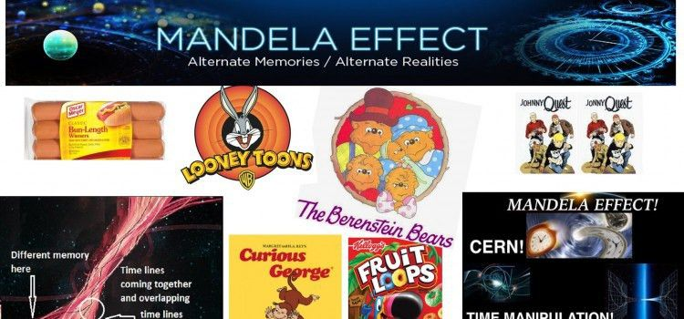 THE MANDELA EFFECT DOCUMENTARY AND EXAMPLES – WOLVOMAN80