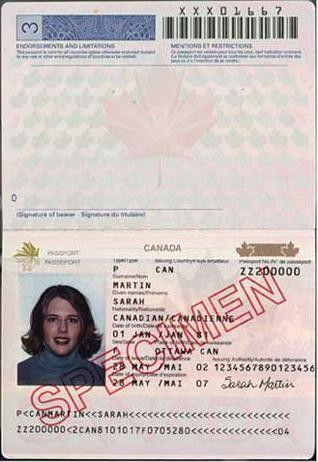 Canadian passport - Wikipedia