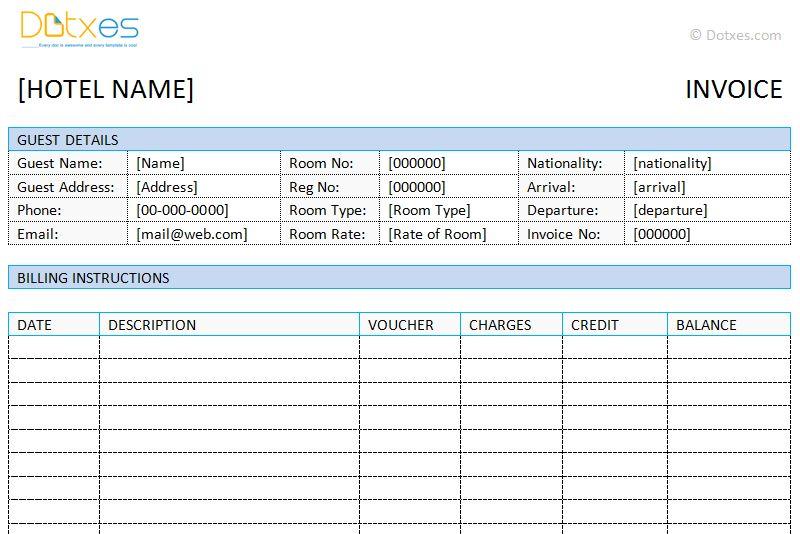 Invoice Templates - Dotxes