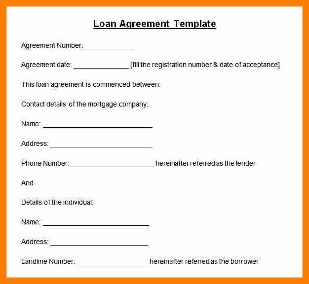 8+ printable loan agreement | hostess resume
