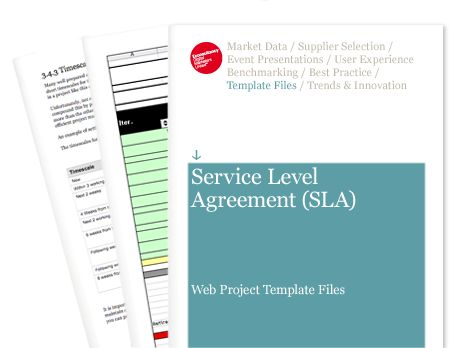 Service Level Agreement (SLA) - Web Project Template Files ...