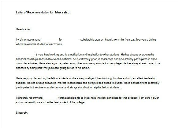 Best Solutions of Letter Of Recommendation Internship Finance With ...
