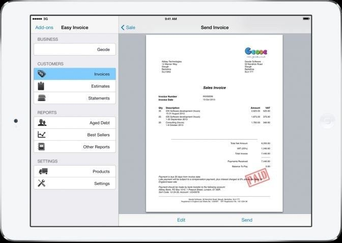 Best Invoice Software For Mac - Best Resume Collection