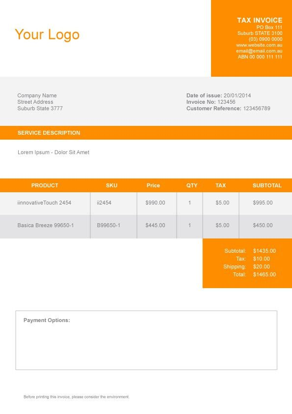 preview invoice as pdf. free invoices templates pdf downloads ...