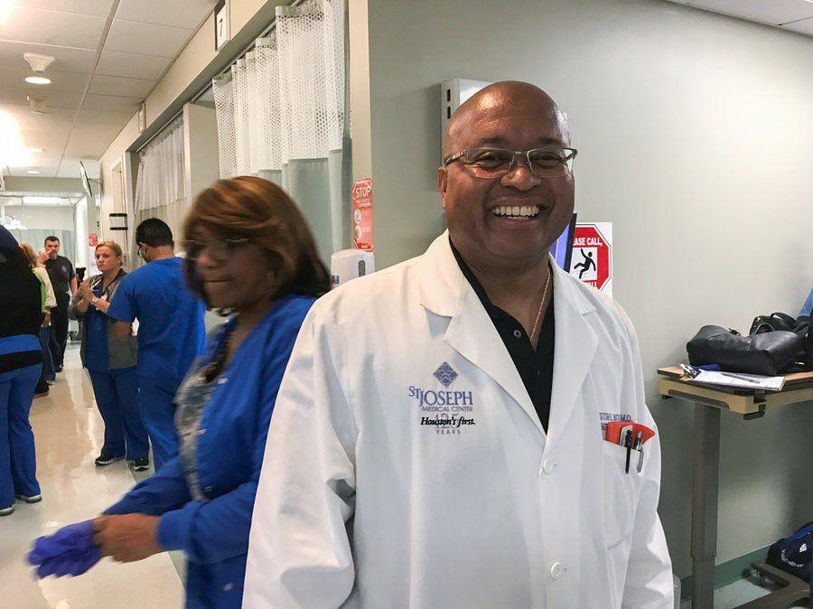 A Houston Emergency Room Works Around The Clock To Help Hurricane ...