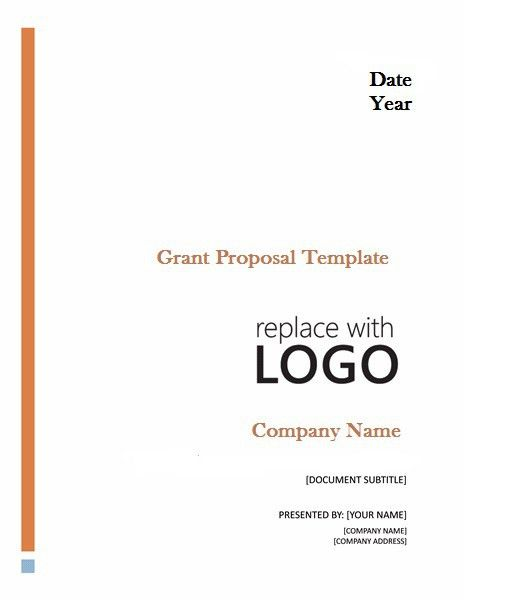 Professional Grant Proposal Template | Projectemplates