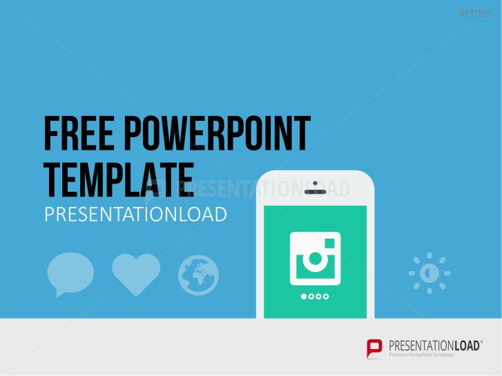 PresentationLoad | Free PowerPoint Template Mobile App