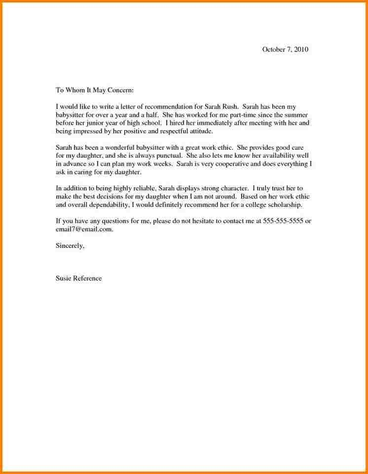 6+ college recommendation letter format | quote templates
