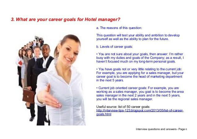 Top 7 hotel manager interview questions answers