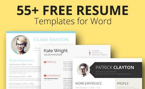 Over 55 Free Resume Templates to Fit Every Stage of Your Career ...