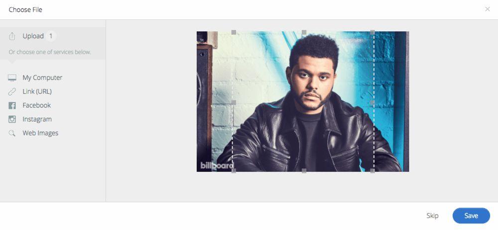 Preview mode for artist bio pics | Genius