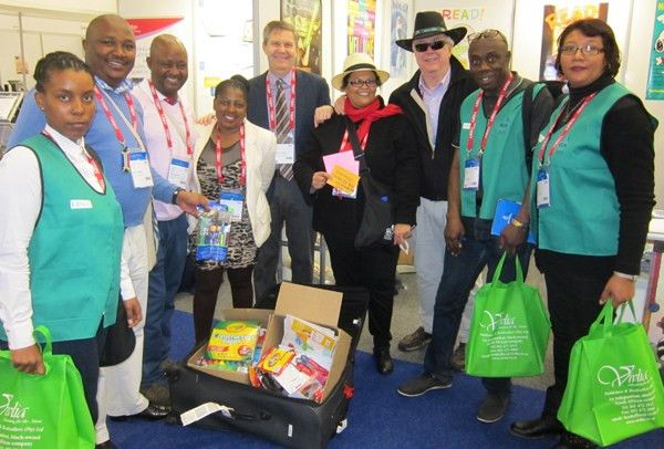 Fifty Pounds of Books, Paper, and Toys Delivered to South African ...