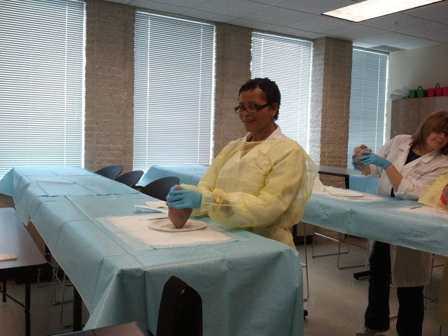 Students in the Professional Medical Assistant Program Learn ...